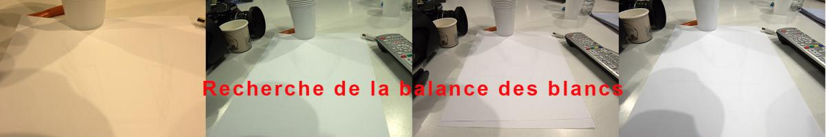 Fasa Photo Explique la balance des blancs